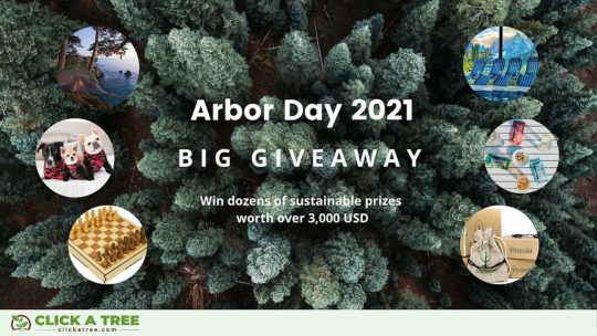 Arbor Day 2021 Give Away